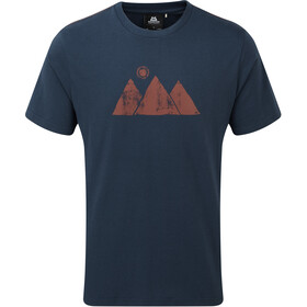 Mountain Equipment Mountain Sun T-shirt Heren, denim blue